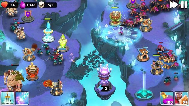 Castle Creeps captura de pantalla 5