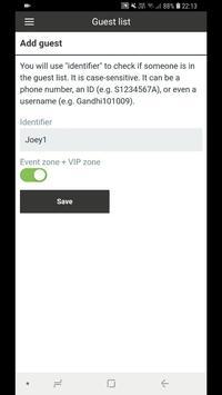 Gatsby – guest lists, access, attendance screenshot 1