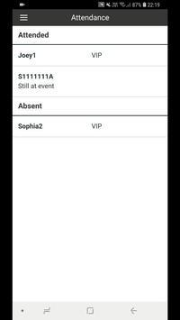 Gatsby – guest lists, access, attendance screenshot 7