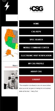 The CSG App 2.0 screenshot 2