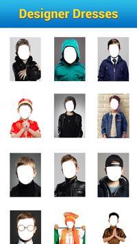 Kids Photo Editor - Kids Photo Suit & Dress Editor poster