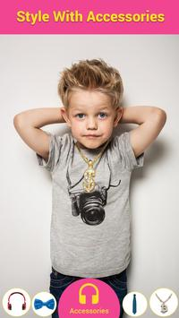 Kids Photo Editor - Kids Photo Suit & Dress Editor screenshot 5
