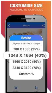 Picture & Photo Resizer : Crop Image, Resize Photo screenshot 2