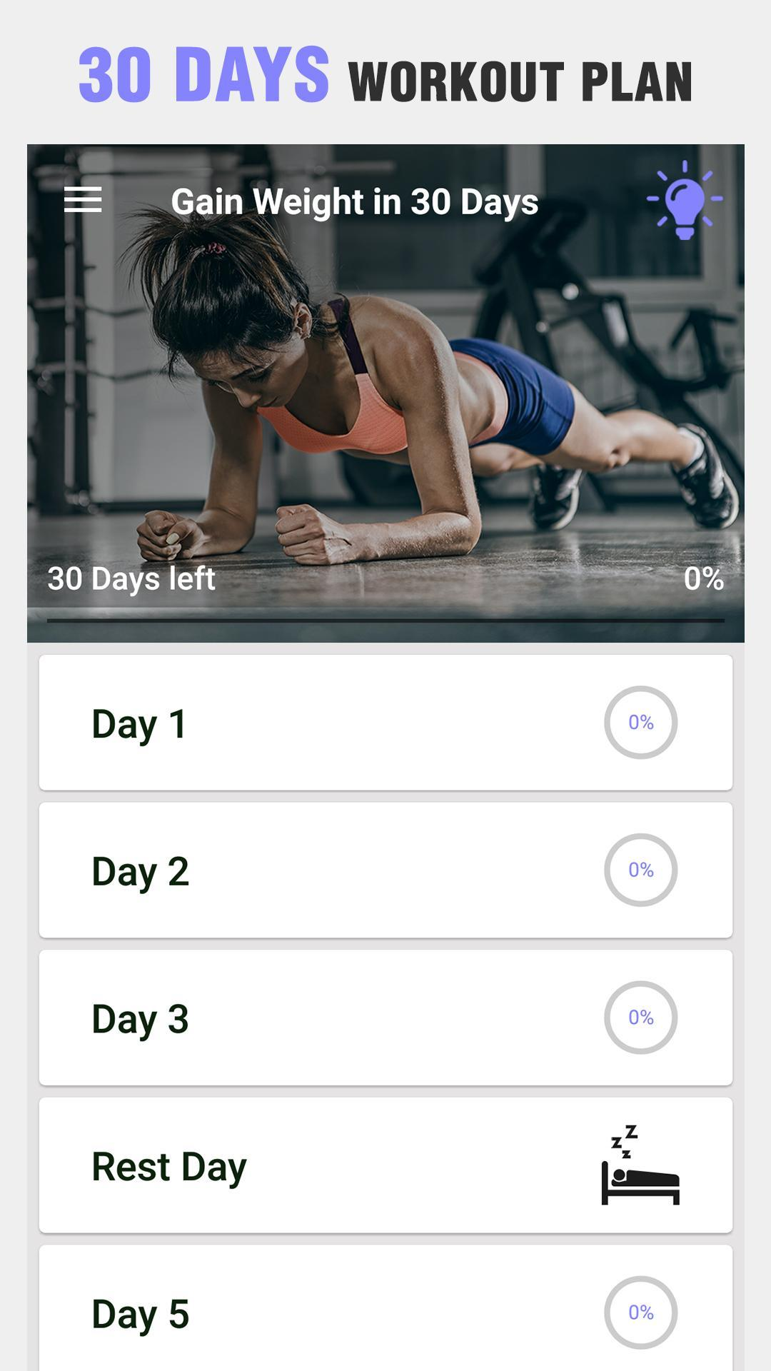 Gain Weight for Women and Men - Diet & Exercises for Android - APK Download