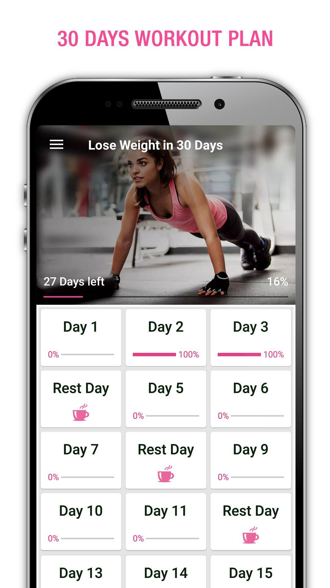Weight Loss Workout for Women, Lose Weight 30 Days for