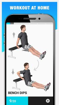 Weight Loss Workout for Men, Lose Weight - 30 Days screenshot 2