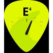Guitar Tuner Free - GuitarTuna أيقونة