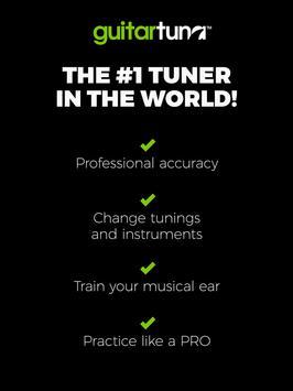 Guitar Tuner Free - GuitarTuna تصوير الشاشة 14