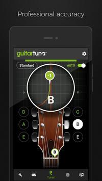 Guitar Tuner Free - GuitarTuna تصوير الشاشة 1