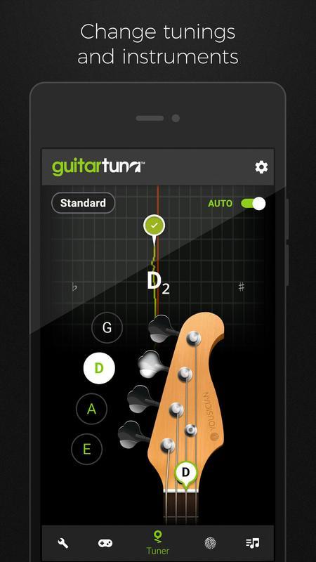 guitar tuner free guitartuna for android apk download. Black Bedroom Furniture Sets. Home Design Ideas