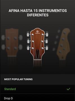 Afinador guitarra -Guitar Tuna captura de pantalla 14
