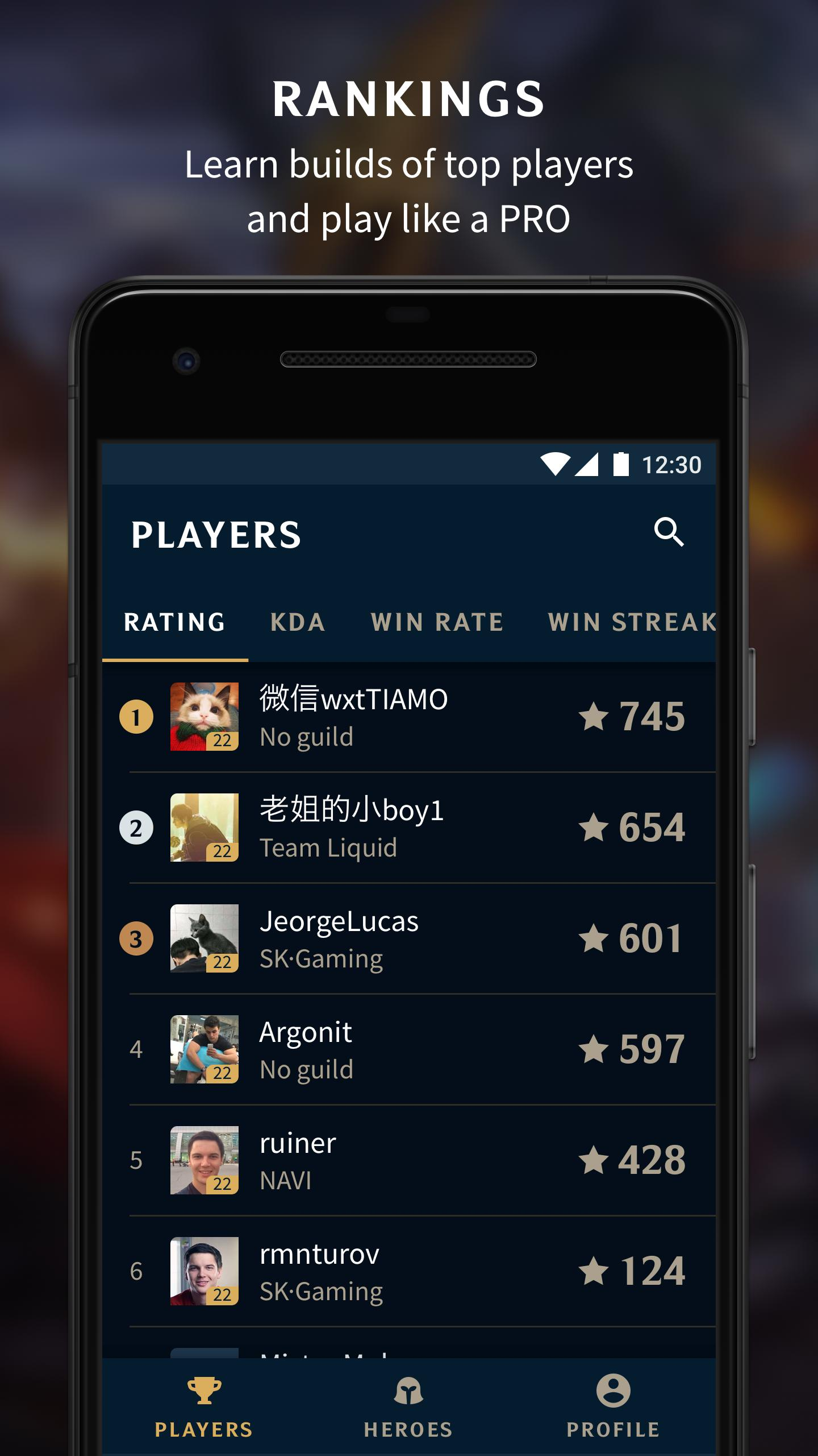 Stats of Valor for Android - APK Download