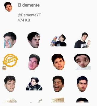 WAStickerApps - Stickers for Youtuber screenshot 15