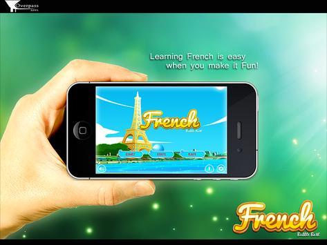 Learn French Bubble Bath Game screenshot 11