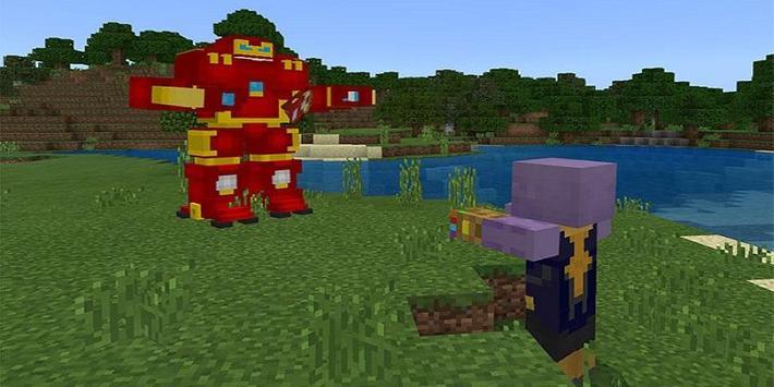 Super Heroes : Infinity Battle Addon for MCPE screenshot 3