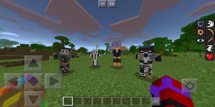 Super Heroes : Infinity Battle Addon for MCPE screenshot 1