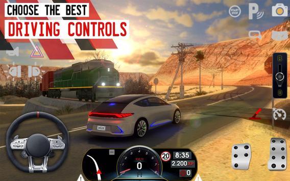 Driving School Sim تصوير الشاشة 7