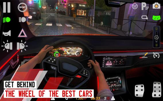 Driving School Sim تصوير الشاشة 2