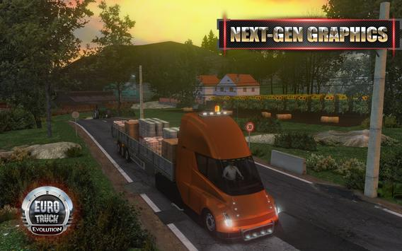 Euro Truck Evolution (Simulator) الملصق