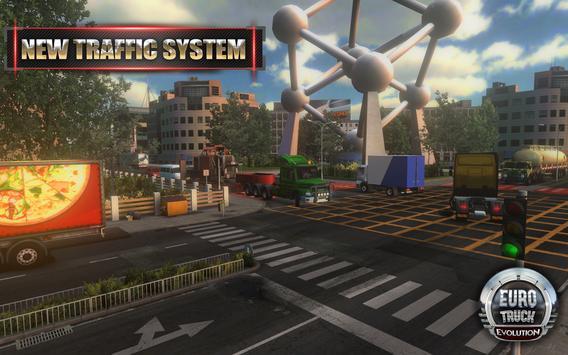 Euro Truck Evolution (Simulator) تصوير الشاشة 1
