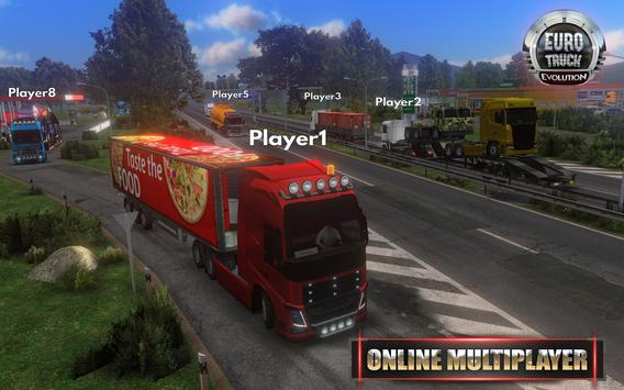 Euro Truck Evolution (Simulator) स्क्रीनशॉट 2