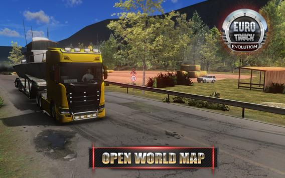 Euro Truck Evolution (Simulator) تصوير الشاشة 5
