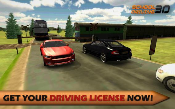 School Driving 3D poster