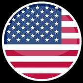USA VPN आइकन