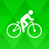 Bike Ride Tracker – bicycle gps map and odometer-icoon