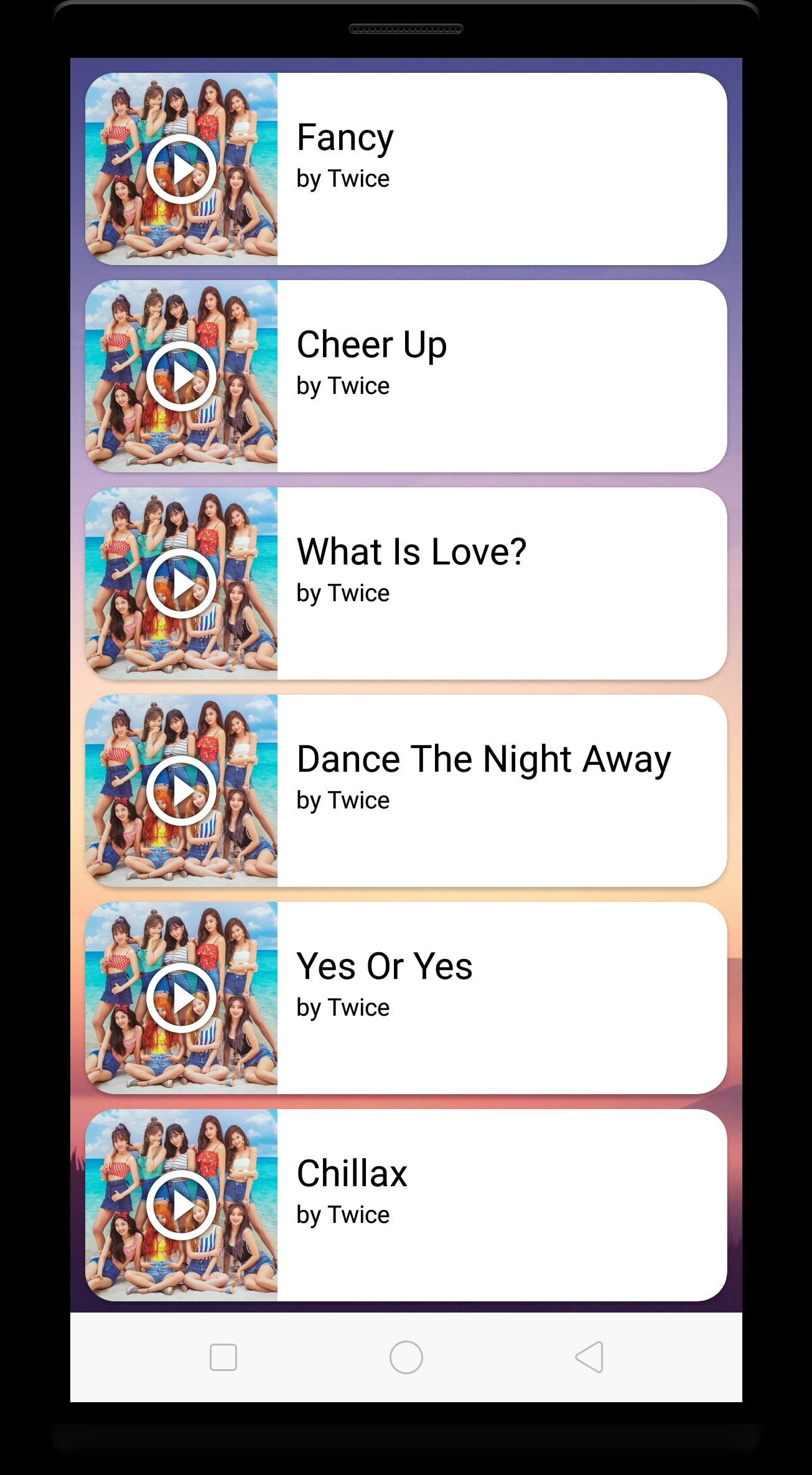Twice Music & Lyrics - KPop Offline for Android - APK Download