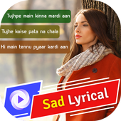 My Photo Sad Lyrical Video Status Maker With Music icon