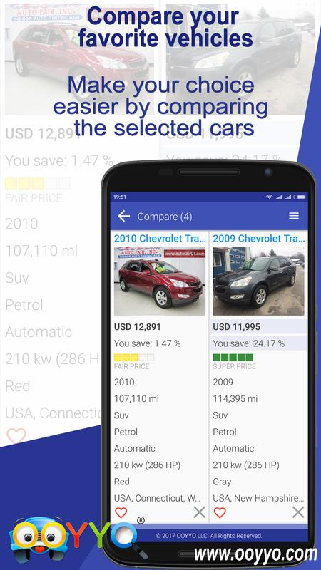 Used Cars For Sale Ooyyo For Android Apk Download