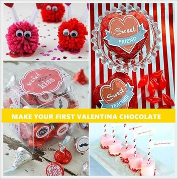 DIY Valentine Chocolate poster