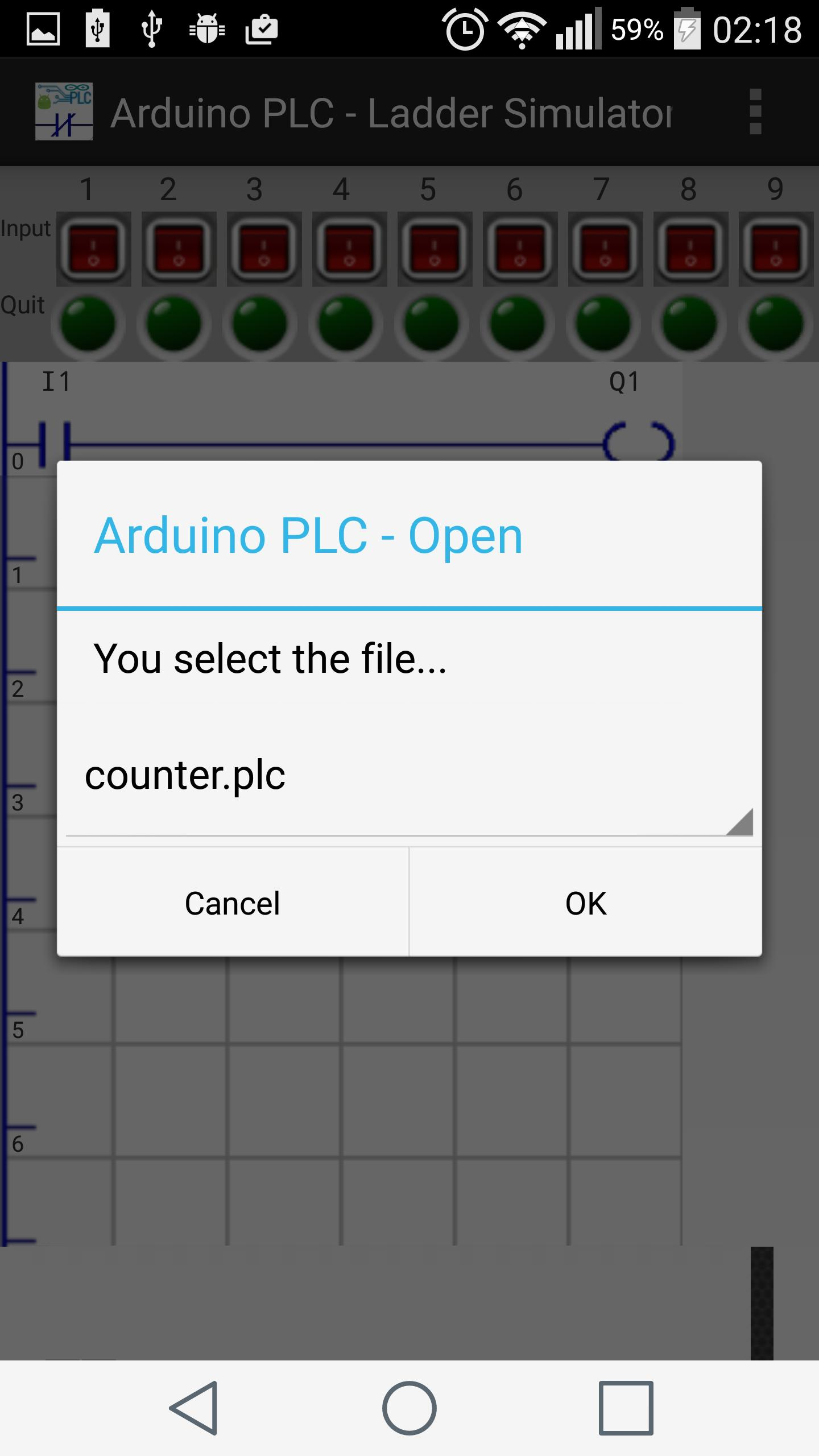 Arduino PLC - Ladder Simulator for Android - APK Download