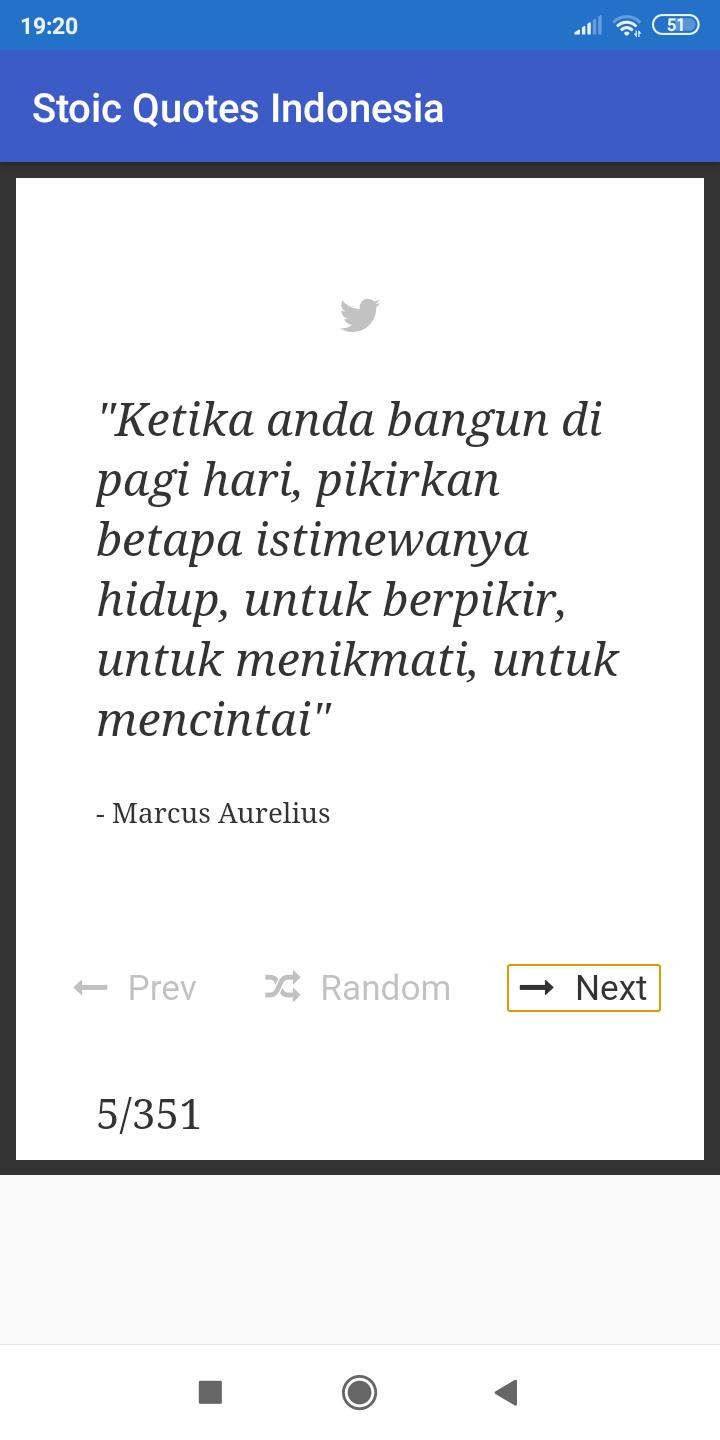 Stoic Quotes Indonesia poster