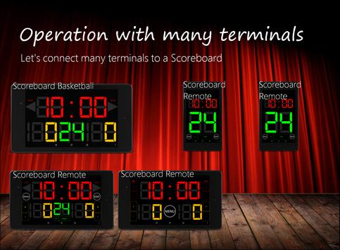 Scoreboard Remote screenshot 2