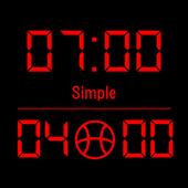 Scoreboard Simple icon