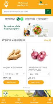 organic at door poster