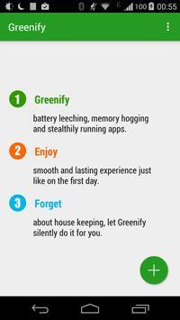 Greenify Plakat