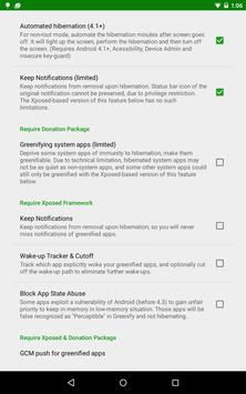 Greenify screenshot 5