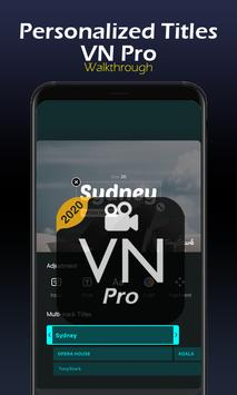 Pro VN -New  Walktrough Maker Editor Vlog Now screenshot 2