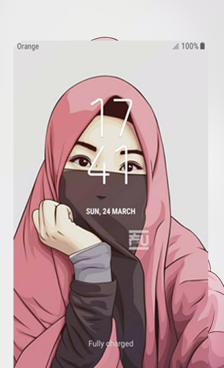 Hijab Cartoon Muslimah Wallpaper Hd For Android Apk Download