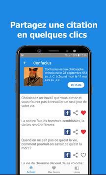 Citations et Proverbes | Confucius screenshot 2