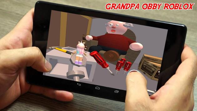 Escape Grandpa's Hint House Obby Survival Game poster