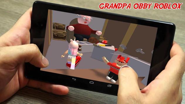 Escape Grandpa's Hint House Obby Survival Game screenshot 1