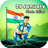 26 January Photo Editor 2020 icon