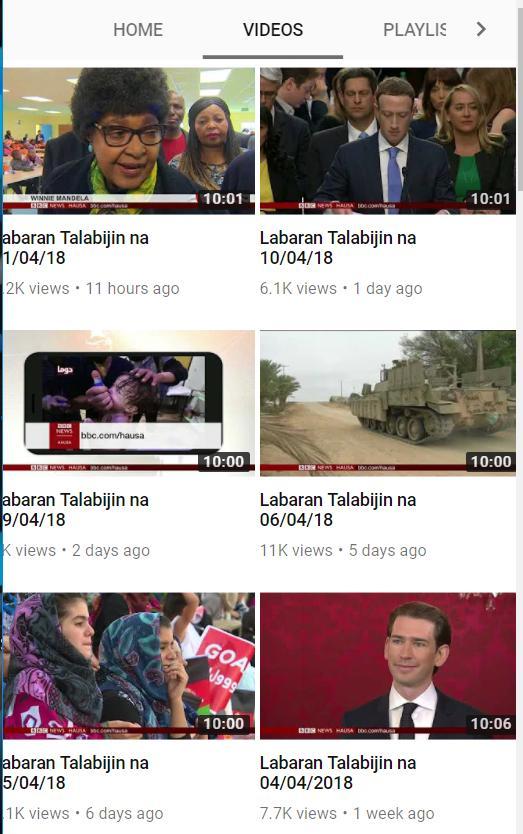 BBC HAUSA TÉLÉCHARGER