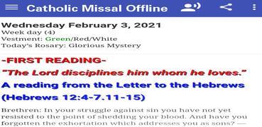 Catholic Missal Offline