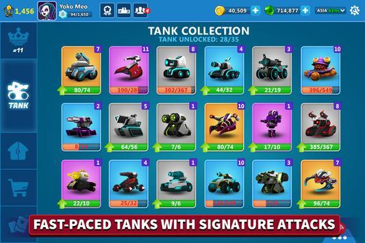 Online Tank Raid: Juego 3D de Tanques captura de pantalla 1
