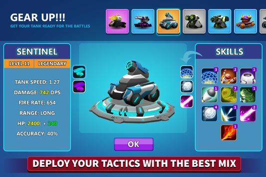 Online Tank Raid: Juego 3D de Tanques captura de pantalla 4